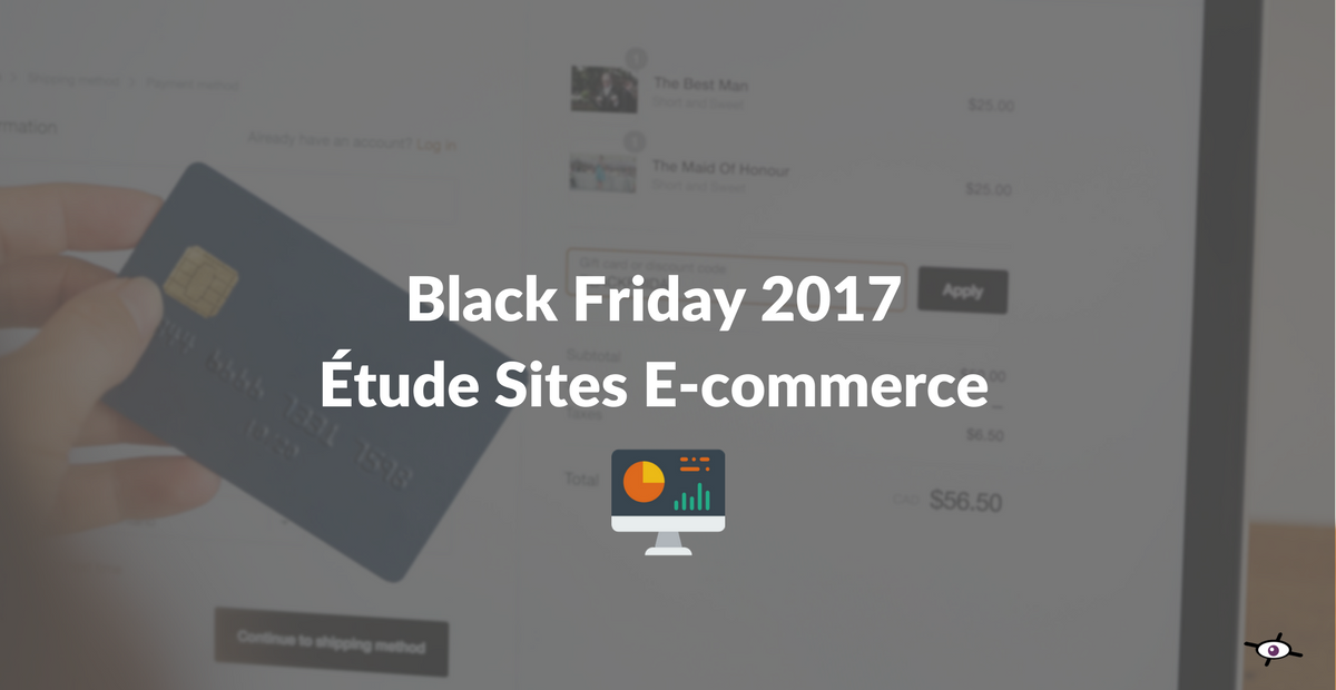 webperf des sites ecommerce black friday 2017