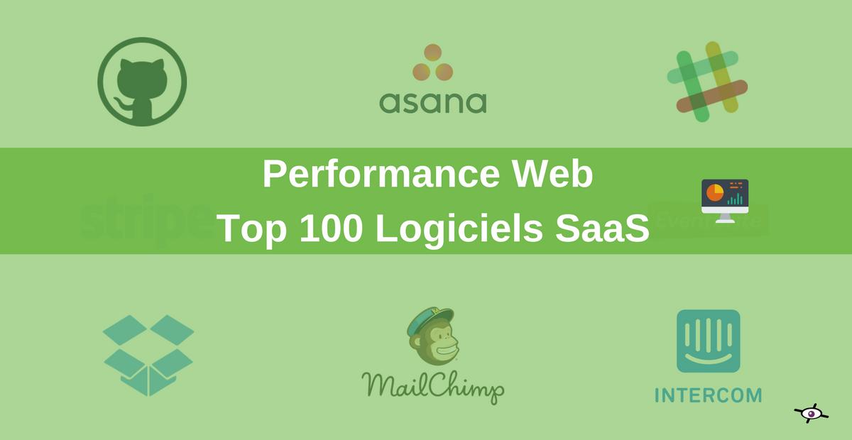 analyse de la performance web de 100 logiciels SaaS